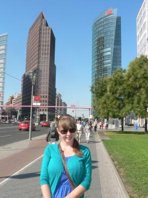 Площадь Потсдамер - богатый район Берлина
