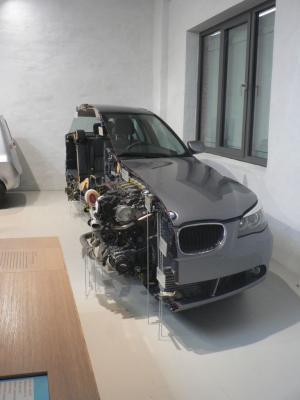 Половина седана BMW
