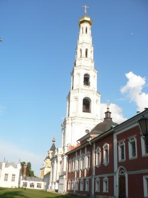 On monastery territory, near Moscow
