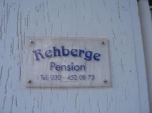 Hotel-pension Rehberge