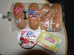Food from store