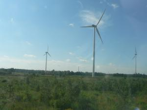 Wind turbines - alternative energy sources