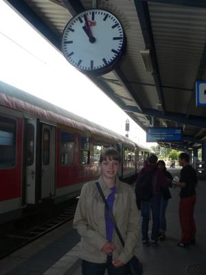 Railway Station of Cottbus