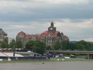 Elbe embankment