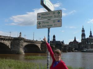 22 kilometres to Pirna