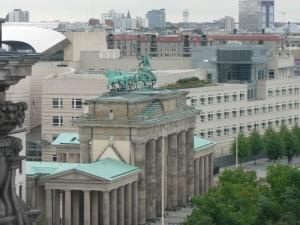 A view of the Brandenburg Gate