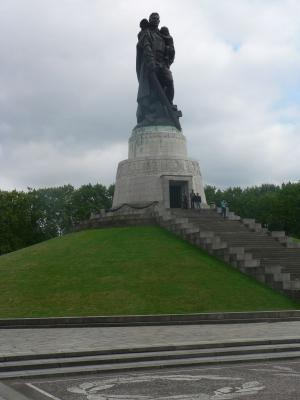 The Soldier-Liberator monument in Treptower Park
