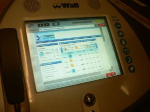 Internet machine at the U-Bahn station