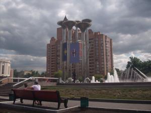 Moscow, Kuzminki metro