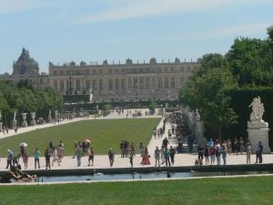 View of Versailles Palace