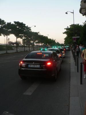 Paris Taxi - Peaugeot and Citroen cars