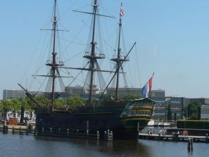 Ship-museum in Amsterdam