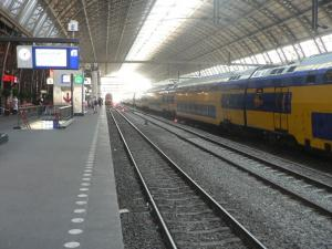 Railway Station Amsterdam Centraal
