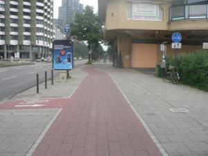 Bicycle roads in Cologne
