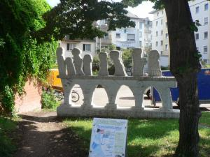 Some strange statues in Koblenz