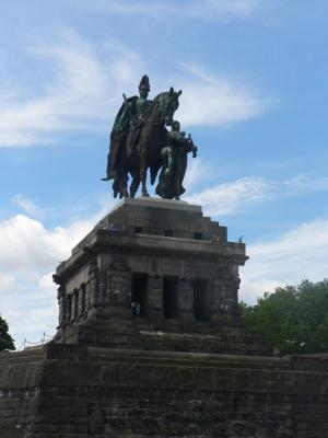 Monument to German Kaiser Wilhelm I