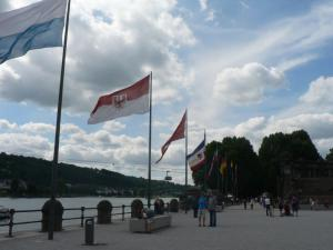 Near German corner, Koblenz