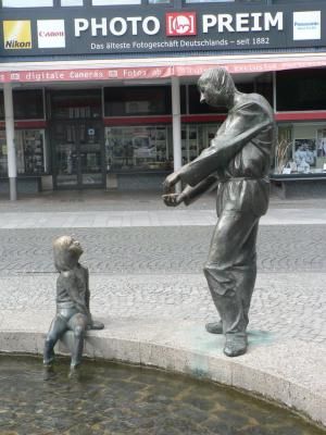 The Statue in the Aachen