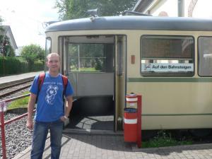 Старинный вагон