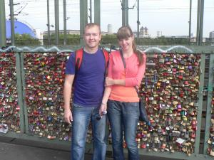 At Lovers Bridge, Cologne