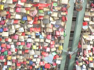 Find our lock.
