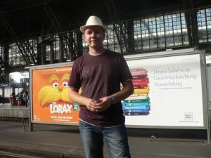 Центральный вокзал в Кёльне