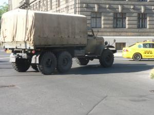 Автомобиль ЗИЛ в Праге