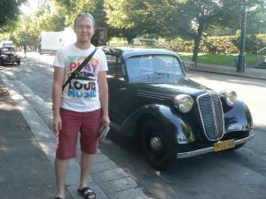 Старые авто в Праге