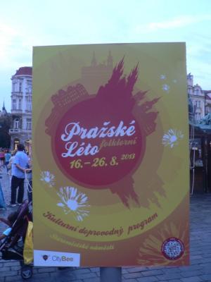 Праздник Лета в Праге