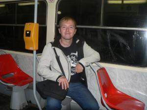 Вагон трамвая № 22