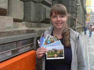 Отправляем открытки