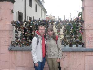Замочки в Праге