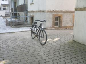Велосипед, на котором я ездил